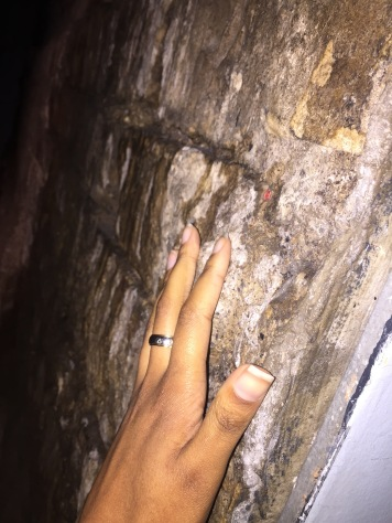 TOUCHING 2,000 YEAR OLD STONE FROM THE TEMPLE SILUS MINERVA!