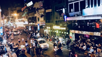 Bui Vien Street Shot
