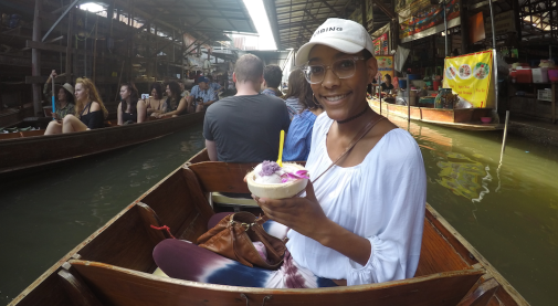 Floating Market Outside of Bangkok