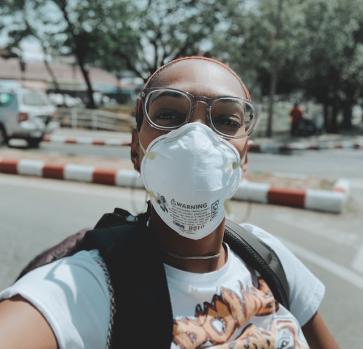 Chiang Mai Burning season n95 mask