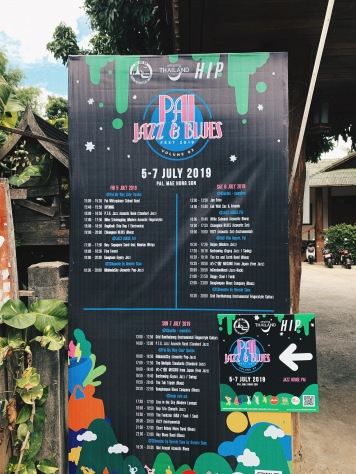 Pai Jazz and Blue Fest lineup info