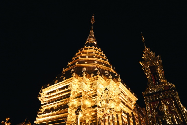 Visiting Wat Umong and Doi Suthep Temples During Sunset with TripGuru
